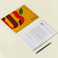 Branding S-Market Papelería (Fotomontaje)