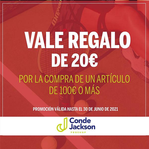 POST INSTAGRAM VALE REGALO PROSHOP CJ-02