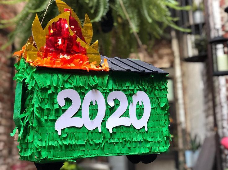 2020 Dumpster Fire Piñata