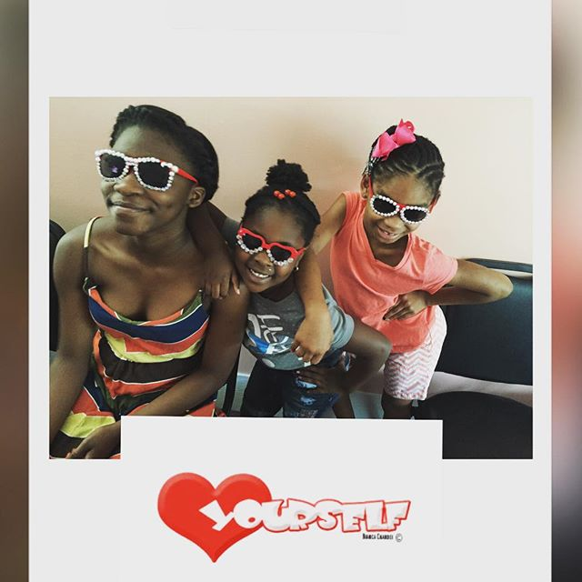 These girls are soooo talented!!!! They designed their own eyewear!!! They told me its a part of the