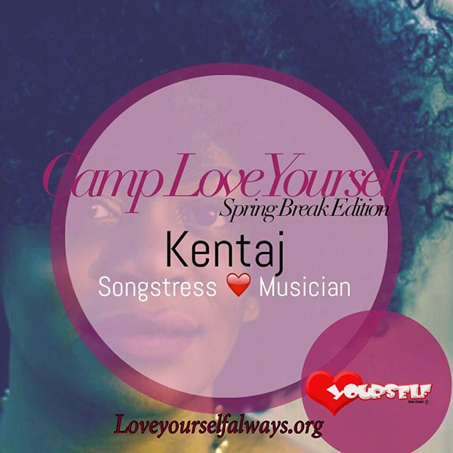 The talented _kentajsings will be joining us next week for Camp LoveYourself-Spring Break