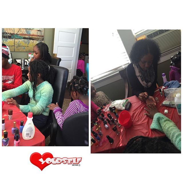 Saturday was all about Hygiene, Starting with Nail Care!! Big Thanks to Kayla and Alyssha for coming