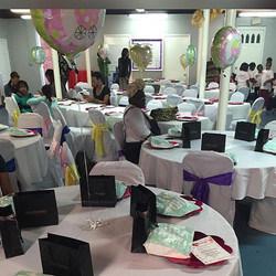 Our Reserved Table for Our Expecting Mothers was full of goodies from _blackradiancebeauty & _mother