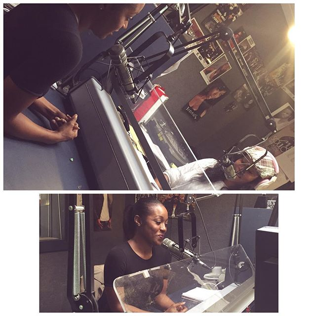 Thank You _hot1039sc & _get2knowneek for having me in the studio today !! I hope to see everyone out