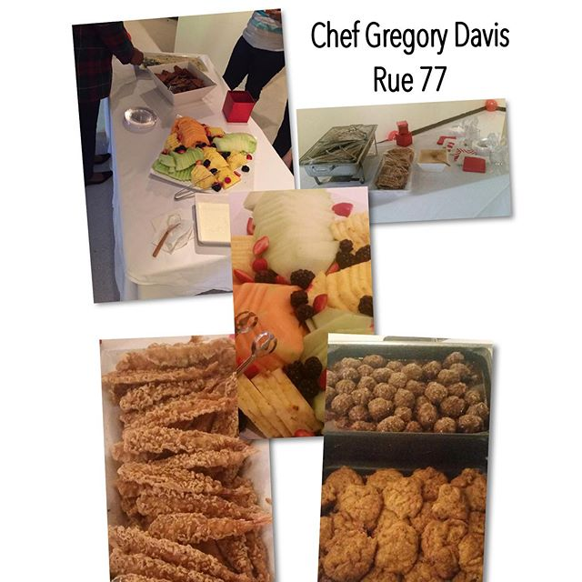 The Food from Saturday was absolutely awesome !! Thanks so much _arif_rue77 and Chef Gregory Davis!!