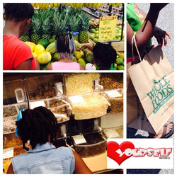 You are what you eat!!! Yesterday we toured #wholefoods , We chatted about nutrition and beauty!!! W