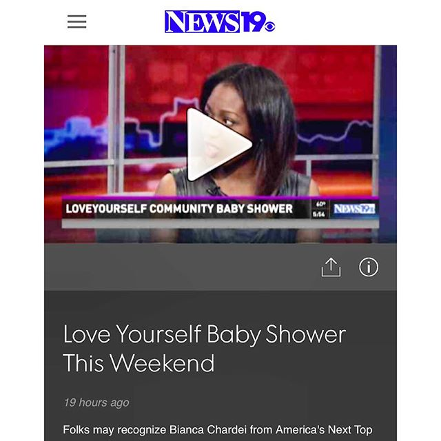 Hey !! Head over to _news19wltx to view yesterday's interview about the upcoming #loveyourselfcommun