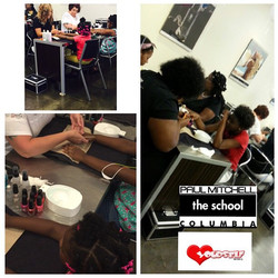Today is all about Nail Care!! I took the girls to get Manicures & Pedicures at Paul Mitchell Columb