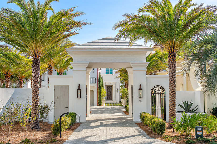 Gated Entryway in Paradise By the Sea