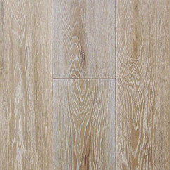 Wire Brushed White Oak Wood Flooring
