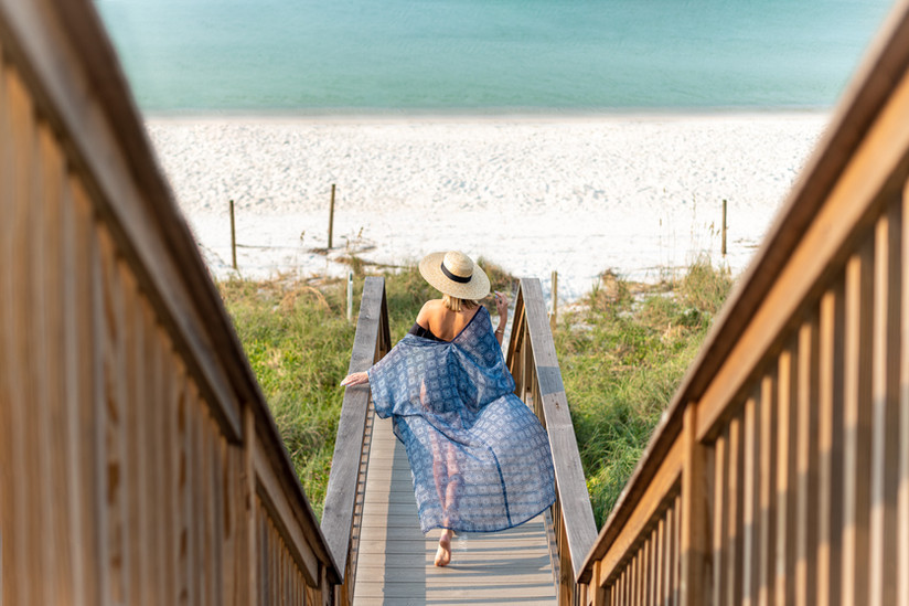 Private Boardwalk and Beach