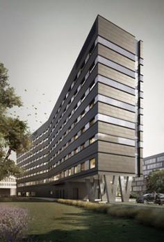 hotel four points by sheraton, architektura, piotr bujnowski, projekt techniczny elewacji studio profil, warszawa
