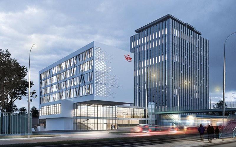 hotel i kompleks biurowy, architekci depowscy, architektura, projekt techniczny elewacji studio profil, warszawa