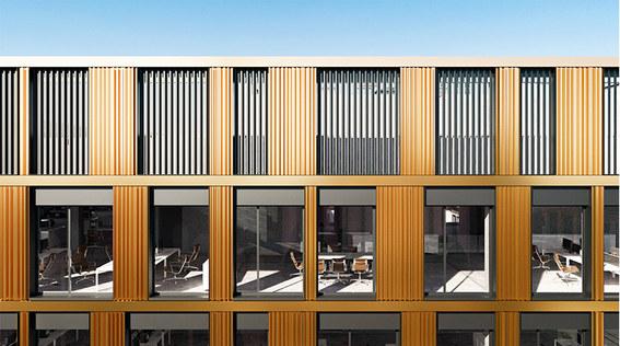 kompleks biurowy, architektura, medusa group, projekt techniczny elewacji studio profil, łódź