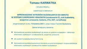 Nowe umiejętności i kompetencje w naszej firmie.