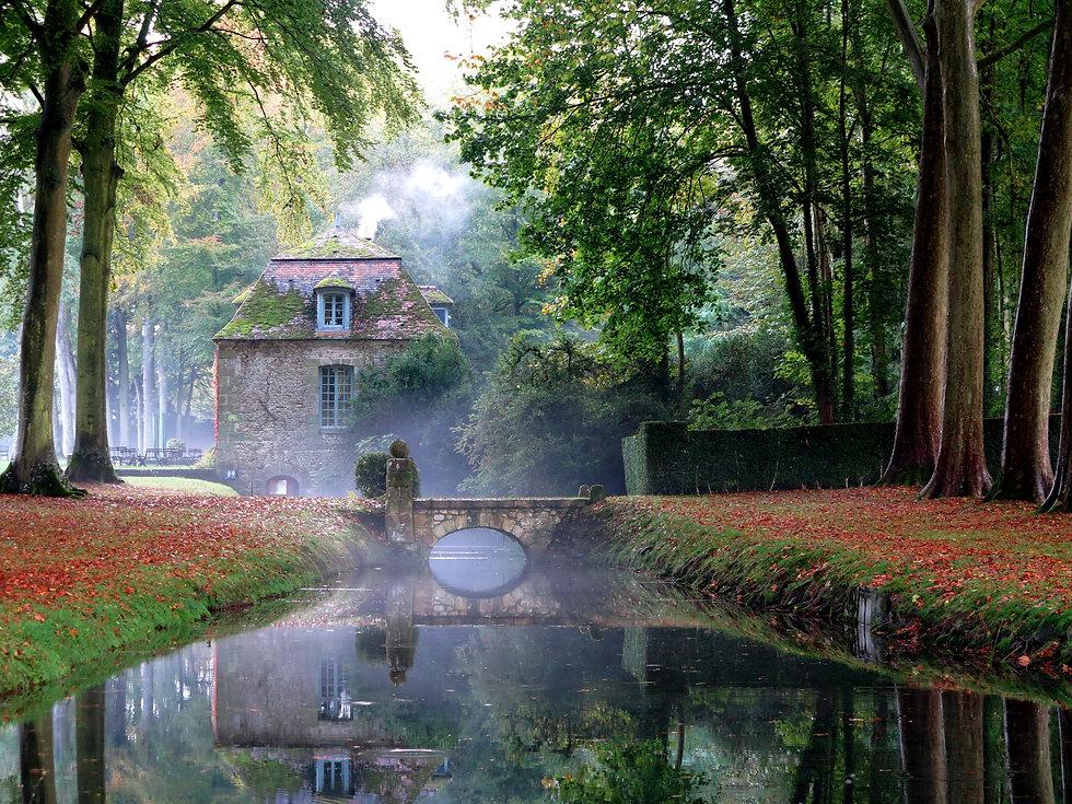 La Foulerie salon de thé du Domaine de Courances