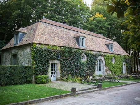 Le salon de thé de la Foulerie, ancien moulin de chanvre