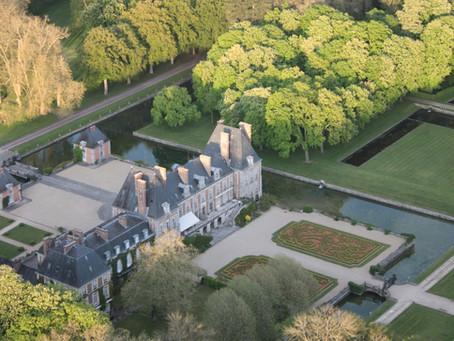 Un château Louis XIII toujours habité