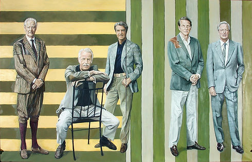 Les 5 frères, par Sébastien de Ganay au Domaine de Courances