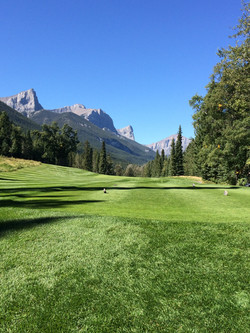 Golf Course Canmore