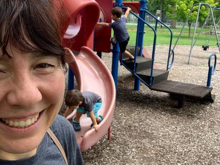 Scavenger Hunt Selfie - Memorial Park