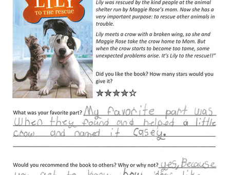 Book Club Reviews - Lily to the Rescue