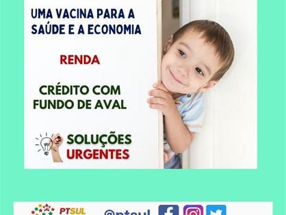 Bancada do PT protocola projeto de crédito emergencial com fundo de aval