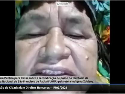 Audiência pública debate ações para diálogo entre etnia Xokleng e órgãos públicos