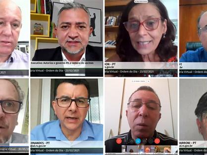 Bancada do PT vota contra adesão do RS ao Regime de Recuperação Fiscal
