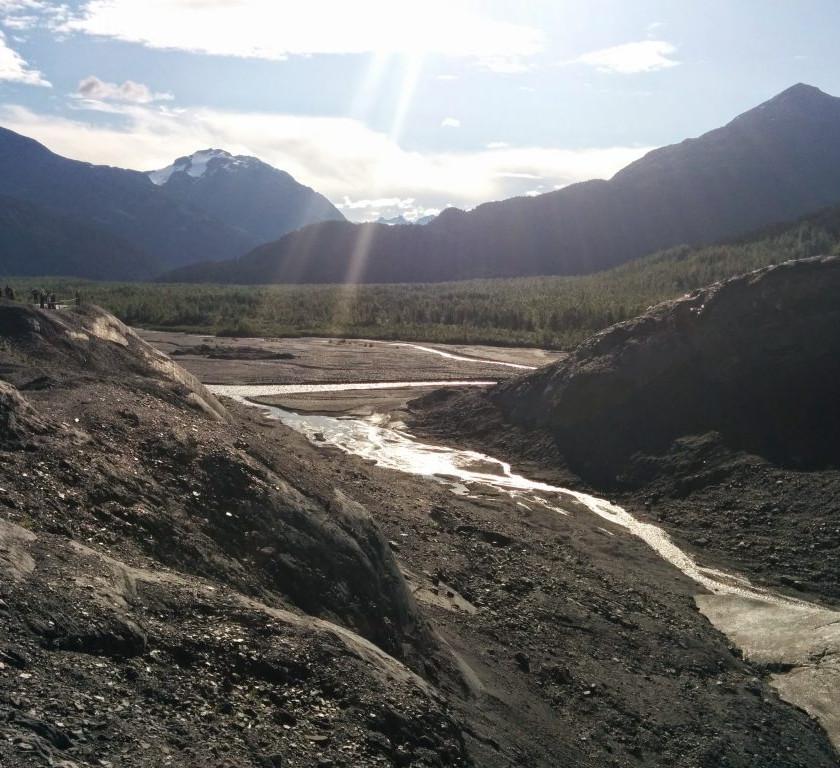 Runoff from Exit Glacier