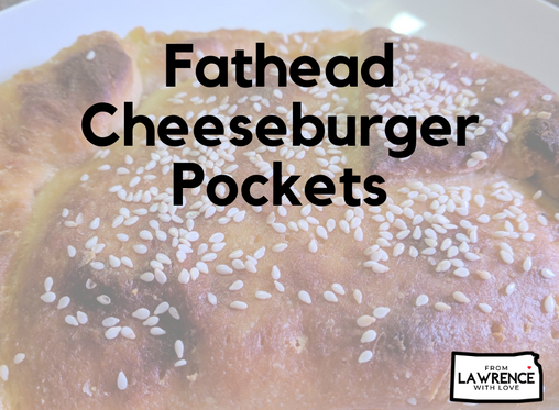 Keto Fathead Cheeseburger Pockets
