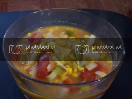 Corn Tortilla Soup