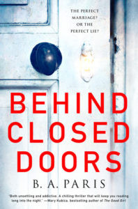 Behind Closed Doors by B.A. Paris - book recommendations