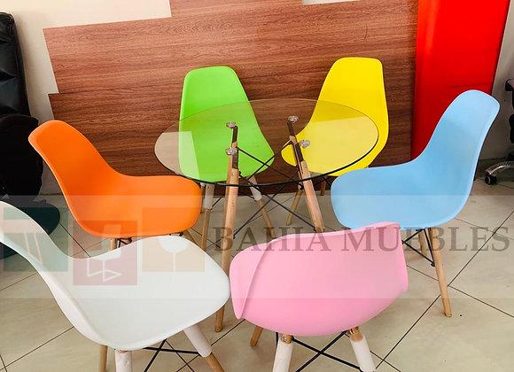 Sillas Eames Varios Colores 25