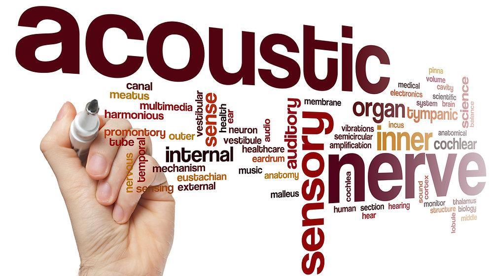 Study Design page Acoustic nerve word cl