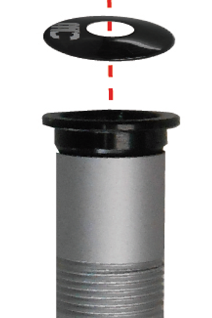 Cipollini Carbon Top Cap and Compression Fittings