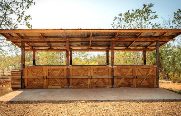 O2Compost horse manure composting system