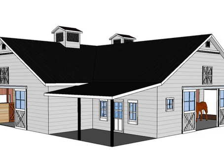 Horse Barn Design - The Power of 3D Modeling