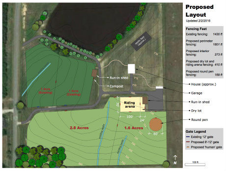 Equestrian Property Master Site Plan
