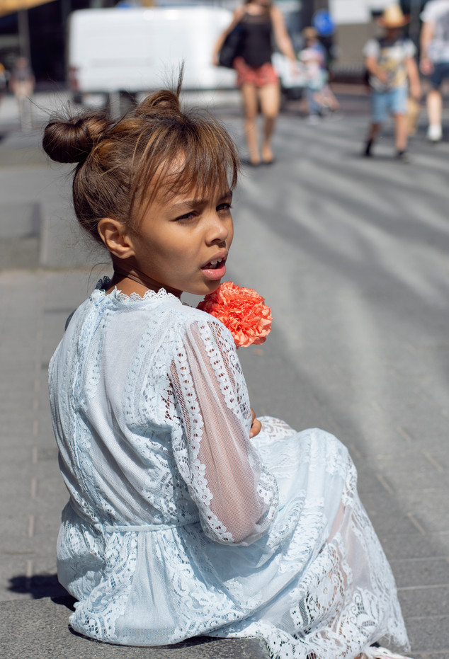 Lapsikuvaus kaupungissa