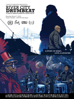 RIVER CITY DRUMBEAT Movie Poster