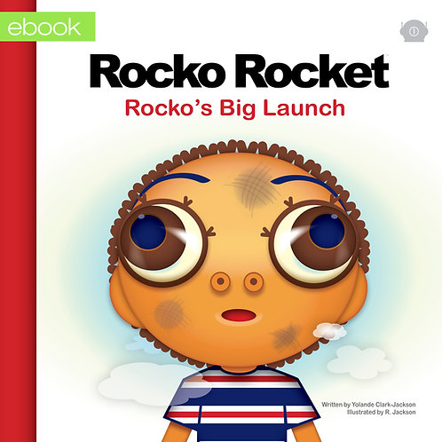 eBook 1 : Rocko's Big Launch (English)