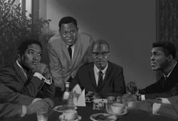 Sam Cook, Sam Moore, Malcom X & Muhammad Ali