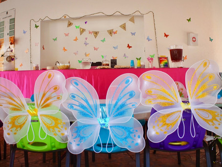 Throwing a butterfly-themed party