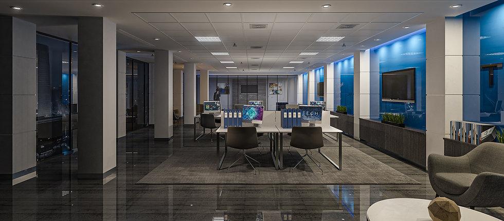 3D Rendering TechFour Workroom