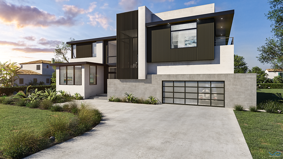 3D Rendering LD home front