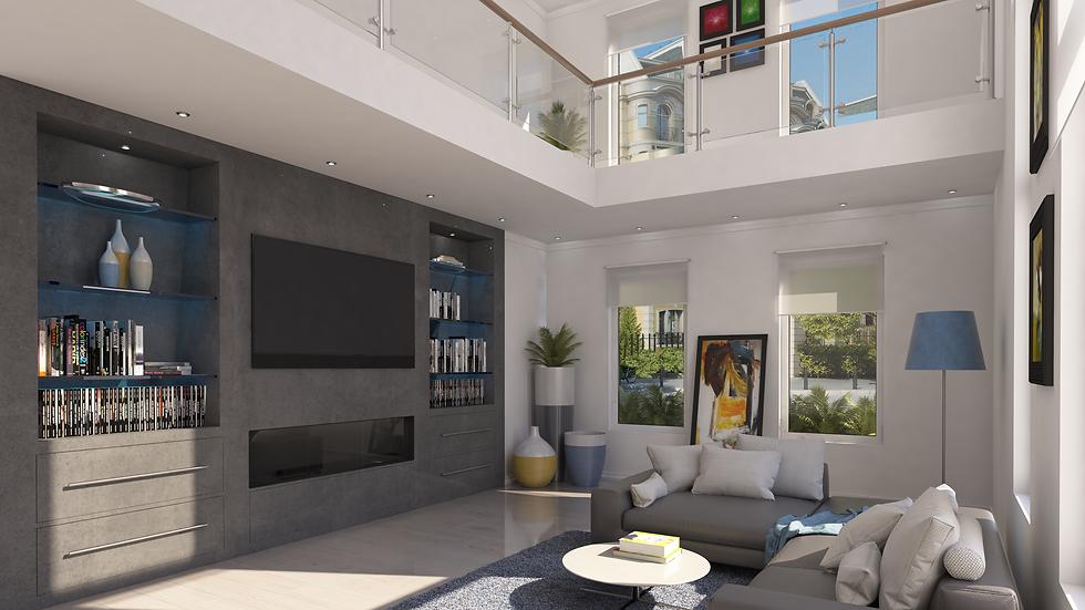 3D rendering Loft Renovation
