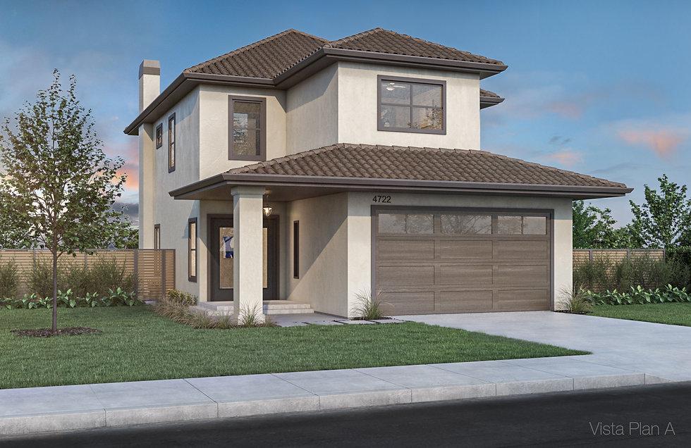 3D rendering Spec home VistaPlan A