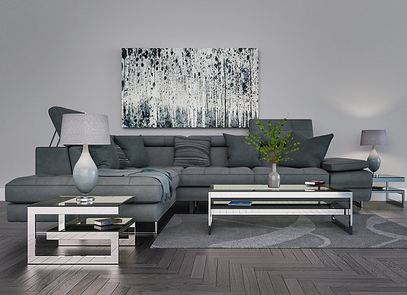 Verti Sofa Sectional Gray