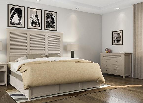 Shutter bed neutral